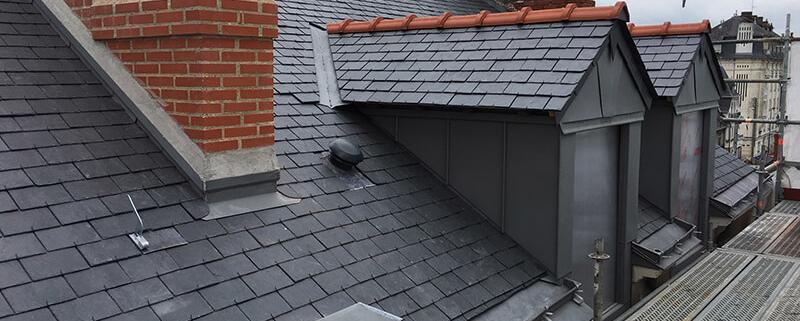 Remise en état toiture Ardoise - Pachet Couverture - Couvreur à Nantes (44)